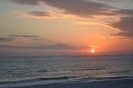 Sunset at Panama City Beach, FL